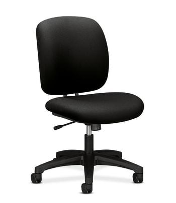 HON ComforTask Chair   Center-Tilt   Black Fabric