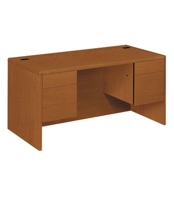 "HON 10700 Series Double Pedestal Desk | 2 Box / 2 File Drawers | 60""W 