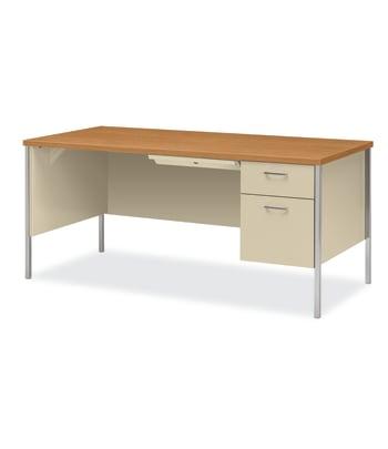 34000 Series Single Pedestal Desk | Box/File