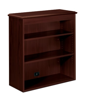 "HON 94000 Series Bookcase Hutch | 2 Shelves | 35-3/4""W 