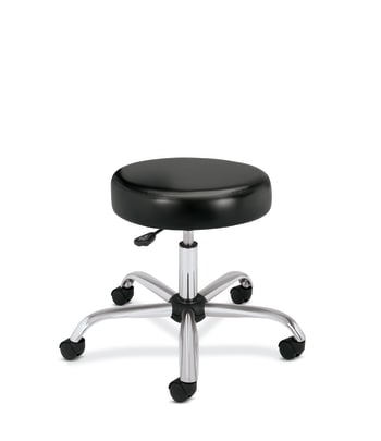 HON Medical Stool | Black Vinyl