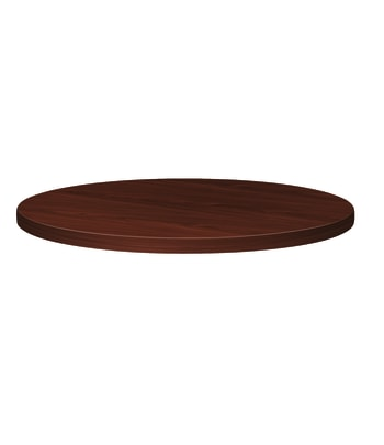 "HON Preside Laminate Table Top | Round | Square Edge | 48"" Diameter 