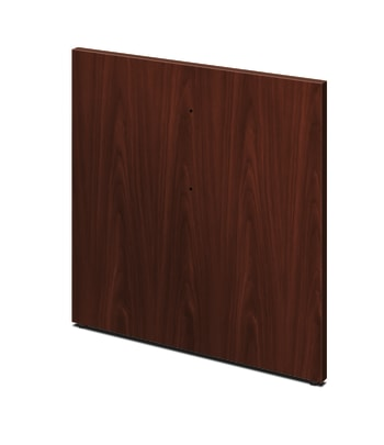 HON Preside Laminate Table Base for Adder Section| Panel Style | Mahogany Finish | 1 Base per Kit
