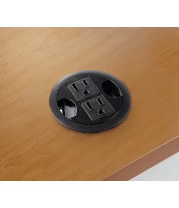 "HON AC Power Hub for 3"" Round Grommet 