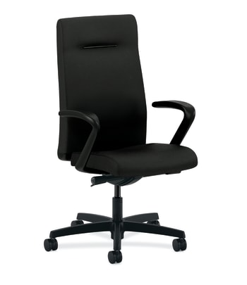 HON Ignition Executive High-Back Chair | Synchro-Tilt | Black Fabric