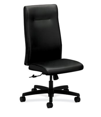 HON Ignition Executive High-Back Chair | Center-Tilt | Black Leather