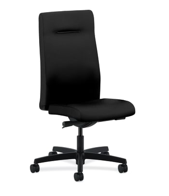HON Ignition Executive High-Back Chair | Armless | Black Fabric