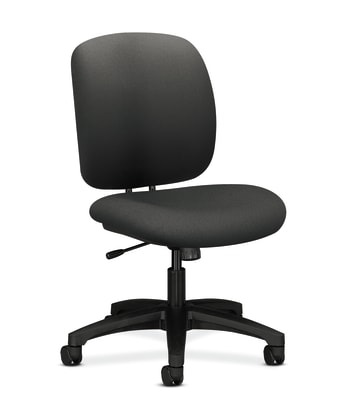 HON ComforTask Chair   Center-Tilt   Iron Ore Fabric