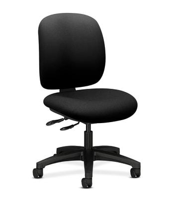 HON ComforTask Chair   Multi-Task Control   Black Fabric