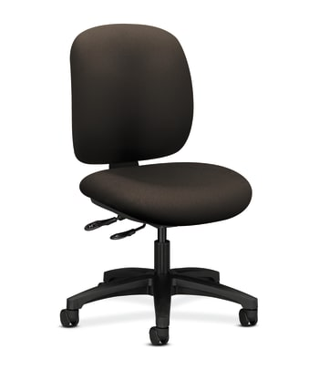 HON ComforTask Chair   Multi-Task Control   Espresso Fabric