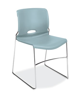 HON Olson High-Density Stacking Chair | Surf Shell