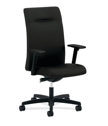 HON Ignition Executive High-Back Chair | Synchro-Tilt, Back Angle | Black Fabric
