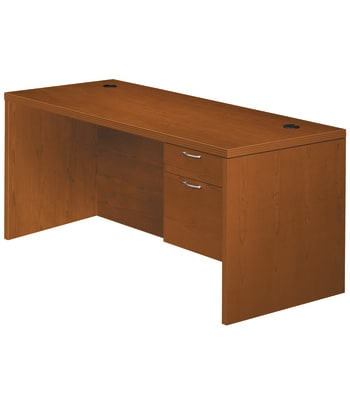 "HON Valido Right Pedestal Desk | 1 Box / 1 File Drawer | 72""W 