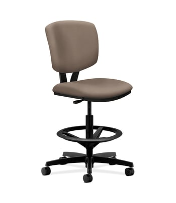 HON Volt Task Stool | Extended Height, Footring | Antelope Fabric