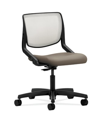 HON Motivate Task Chair | Fog 4-way stretch Back | Antelope Fabric