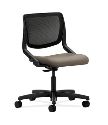 HON Motivate Task Chair | Black 4-way stretch Back | Antelope Fabric