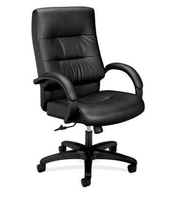 HON Client Executive High-Back Chair | Center-Tilt | Fixed Arms