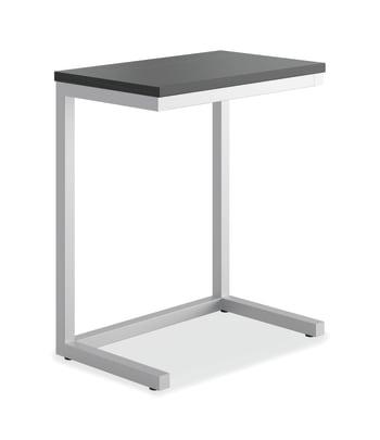 "HON Cantilever Table   17-1/2""W   Black Finish"