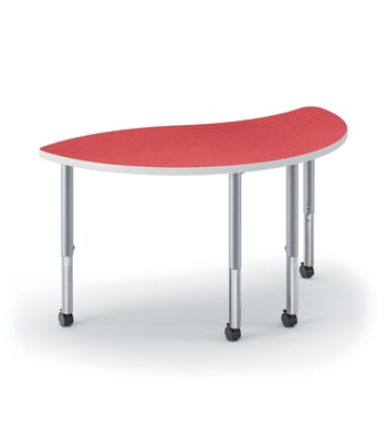 "HON Build Table | Wisp Shape | 54""W x 30""D 