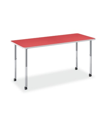 "HON Build Table | Rectangle Shape | 60""W x 30""D 