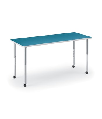 "HON Build Table | Rectangle Shape | 72""W x 30""D 