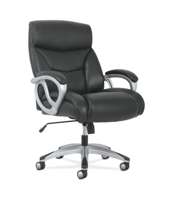 Sadie Big and Tall High-Back Executive Chair | Black Leather
