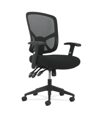 Sadie High-Back Task Chair | Height Adjustable Arms | Height Adjustable Back