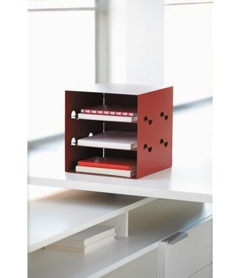 "HON Storage Cube | 12""W | Flame Color"