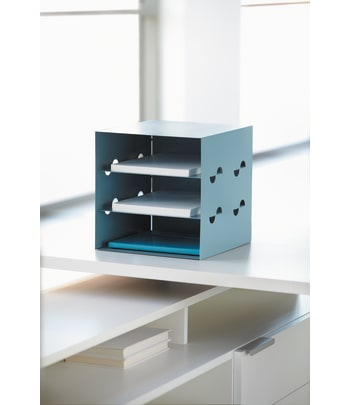 "HON Storage Cube | 12""W | Pool Color"