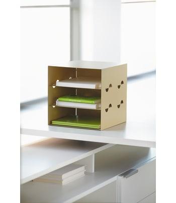"HON Storage Cube | 12""W | Sisal Color"