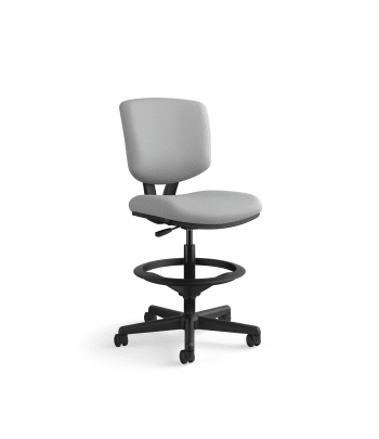 HON Volt Task Stool | Extended Height, Footring | Frost Fabric