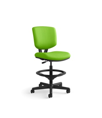HON Volt Task Stool | Extended Height, Footring | Pear Fabric