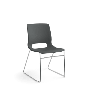 HON Motivate High-Density Stacking Chair | Lava Shell | 4 per Carton