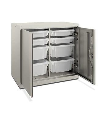 "HON Flagship Modular Storage Cabinet | 28""H | Loft Finish"