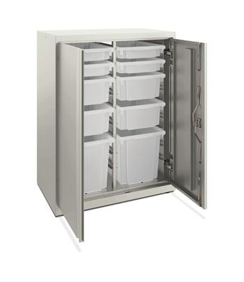 "HON Flagship Modular Storage Cabinet | 39""H | Loft Finish"
