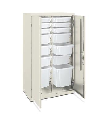 "HON Flagship Modular Storage Cabinet | 52""H | Loft Finish"