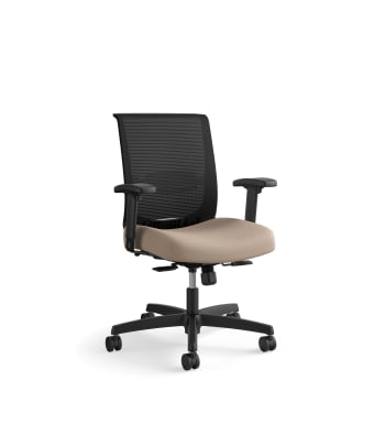 HON Convergence Task Chair | Synchro-Tilt With Seat Slide Control | Height- and Width-Adjustable Arms | Morel Fabric