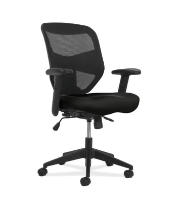 HON Prominent High-Back Task Chair | Synchro-Tilt Control with Seat Slide | Black Mesh