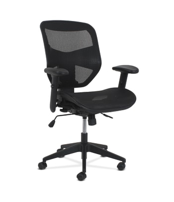 HON Prominent High-Back Task Chair | Synchro-Tilt with Seat Slide | Black Mesh