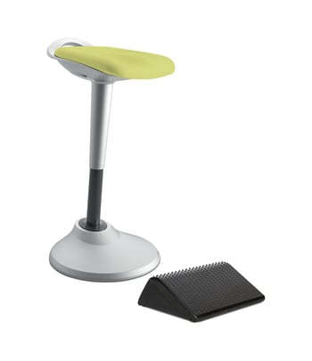HON Perch with Footrest   Green