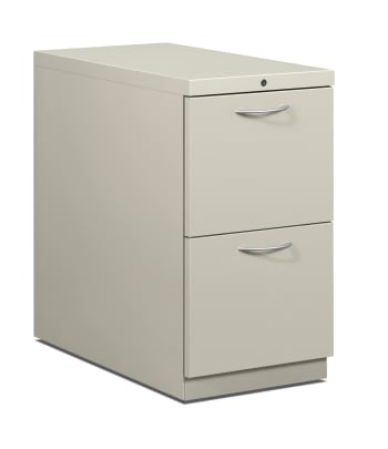 "HON Flagship Mobile Pedestal | 2 File Drawers | Arch Pull | 15""W 