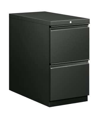 "HON Flagship Mobile Pedestal | 2 File Drawers | Radius Pull | 15""W 