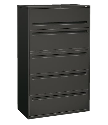 "HON Brigade 700 Series Lateral File | 5 Drawers | Integral Pull | 42""W 