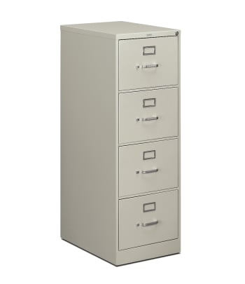 "HON 510 Series Vertical File | 4 Drawers | Legal Width | 18-1/4""W x 25""D 