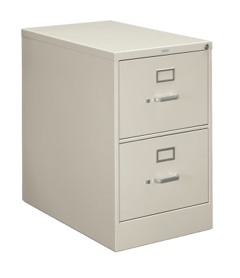 "HON 210 Series Vertical File | 2 Drawers | Letter Width | 18-1/4""W x 28-1/2""D 
