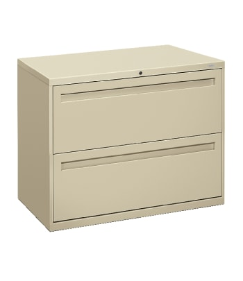 "HON Brigade 700 Series Lateral File | 2 Drawers | Integral Pull | 36""W 