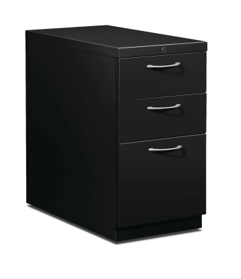 "HON Flagship Mobile Pedestal | 2 Box / 1 File Drawer | Arch Pull | 15""W 