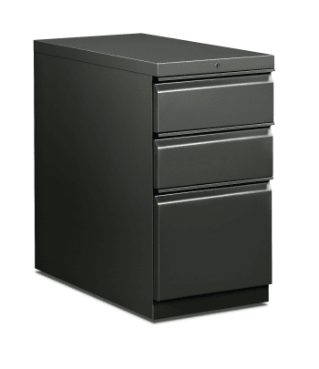 "HON Flagship Mobile Pedestal | 2 Box / 1 File Drawer | Radius Pull | 15""W 