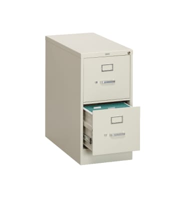 "HON 310 Series Vertical File | 2 Drawers | Letter Width | 15""W x 26-1/2""D 