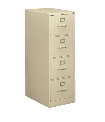 "HON 310 Series Vertical File | 4 Drawers | Legal Width | 18-1/4""W x 26-1/2""D 